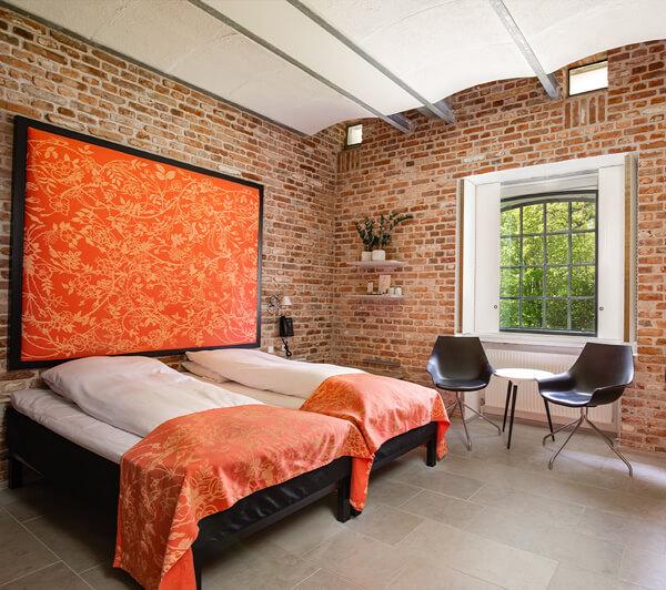 råt værelse med fede detaljer hindsgavl slot