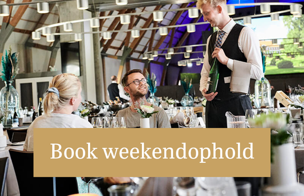 Book weekendophold med fuld forplejning Hindsgavl Slot